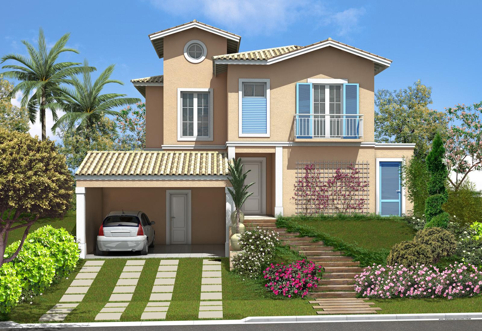 Feng shui terapia para a casa 5 elementos senhoras for Modelo de fachadas para casas modernas